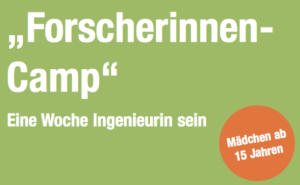 Logo Forscherinnencamp