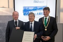 "Zum Artikel ""Honorary doctorate awarded to Professor James Fujimoto"""